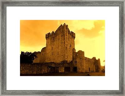 Ross Castle Framed Print by Aidan Moran