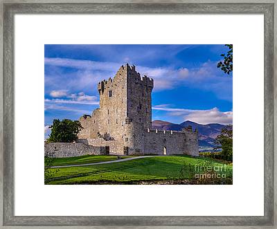 Ross Castle Framed Print by Juergen Klust