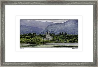 Framed Print featuring the photograph Ross Castle by R Thomas Berner