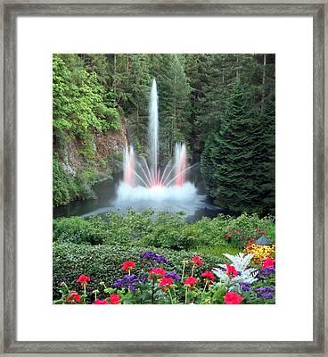Ross Fountain Framed Print