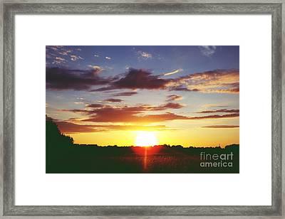 Rossington Sunset 2 Framed Print