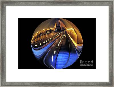 Rosslyn Metro Station Framed Print