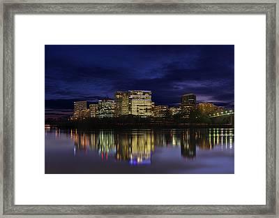 Rosslyn Skyline Framed Print
