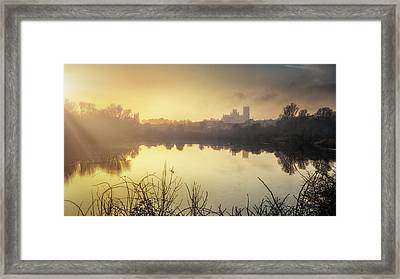 Roswell View Framed Print