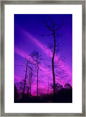 Rosy Fingers Of Dawn Framed Print by Gerard Fritz