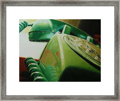 Rotary Framed Print by Denny Bond