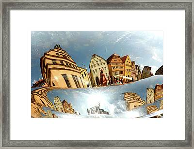 Framed Print featuring the photograph Rotenburg In A Tuba by KG Thienemann