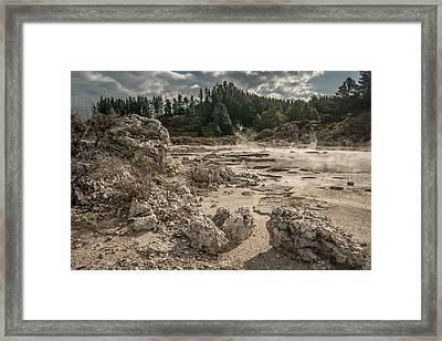 Rotorua Framed Print