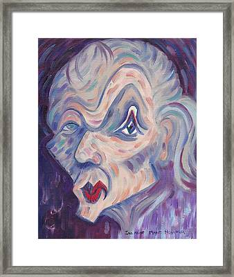 Rotten Mood Framed Print by Suzanne  Marie Leclair