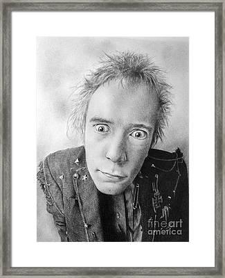 Rotten Framed Print by Stuart Attwell