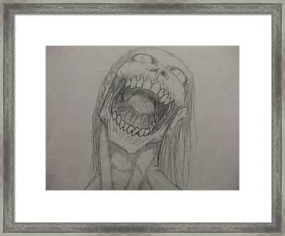 Rotting Hunger Framed Print