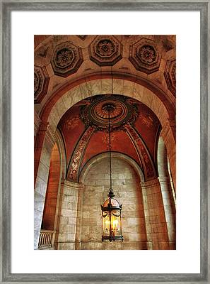 Framed Print featuring the photograph Rotunda Ceiling by Jessica Jenney