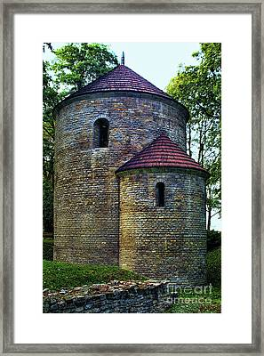 Framed Print featuring the photograph Rotunda  by Mariola Bitner