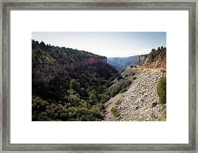 Rough Country Framed Print by Jon Burch Photography