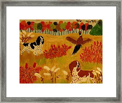 Rough Cover Framed Print by Betty J Roberts