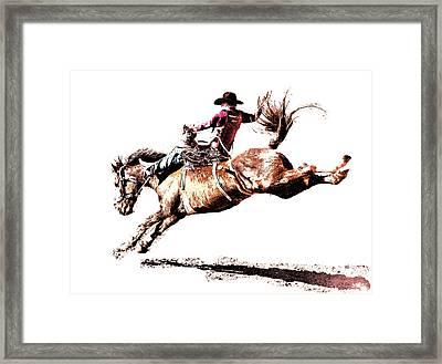 Rough Ride Framed Print