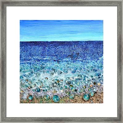Rough Sands Framed Print by Regina Valluzzi