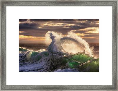 Rough Sea 23 Framed Print