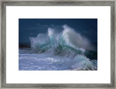 Rough Sea 25 Framed Print