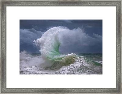 Rough Sea 4 Framed Print
