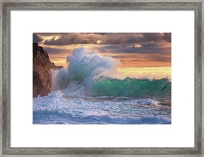 Rough Sea 9 Framed Print