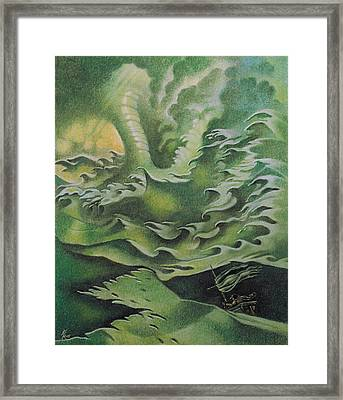 Rough Seas Framed Print