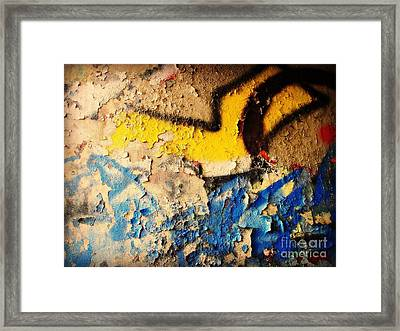 Framed Print featuring the photograph Listen To The City by Kristine Nora