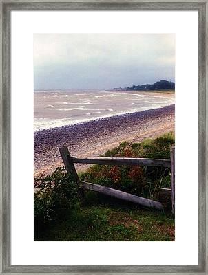 Rough Storm Framed Print