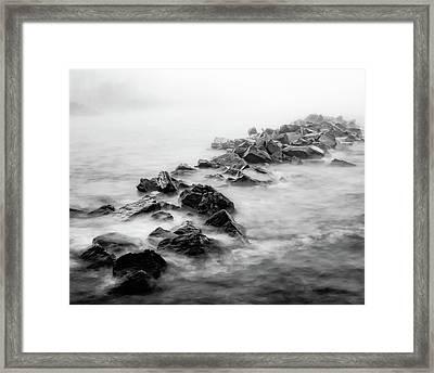 Rough Superior Framed Print