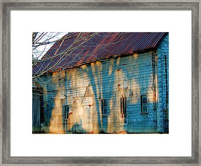 Rust Never Sleeps Framed Print