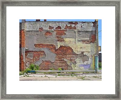 Rough Wall Framed Print by David Kyte