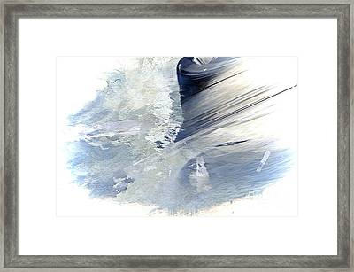 Rough Yet Peaceful Framed Print