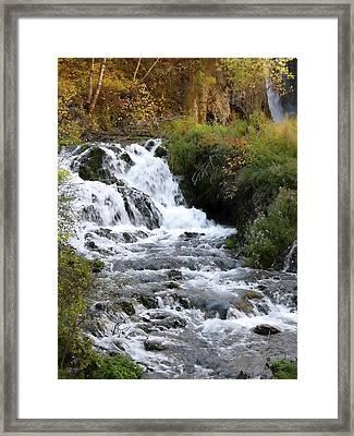 Roughlock Falls Framed Print