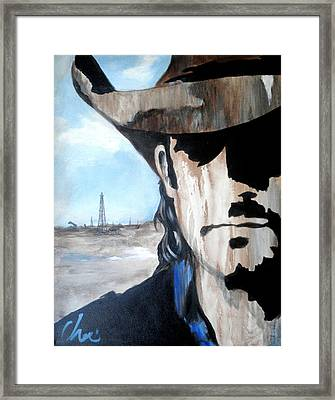 Roughneck Framed Print