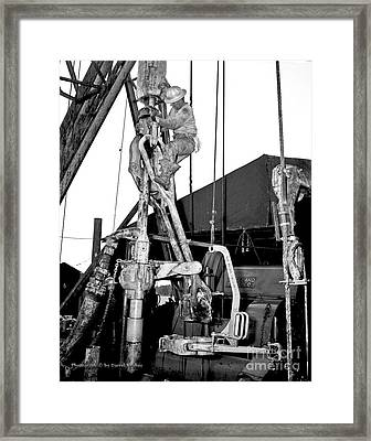 Roughnecks Framed Print