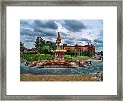 Framed Print featuring the photograph Round About by Roberta Byram