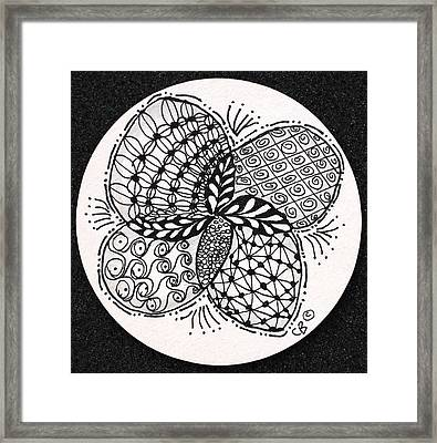 Round And Round Framed Print