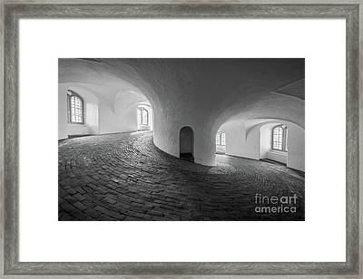 Round And Round We Go Framed Print by Inge Johnsson