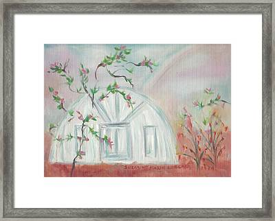 Round House Framed Print by Suzanne  Marie Leclair