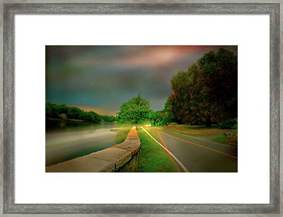 Framed Print featuring the photograph Round The Bend by Diana Angstadt