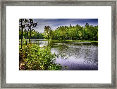 Framed Print featuring the photograph Round The Bend In Oil 36 by Mark Myhaver