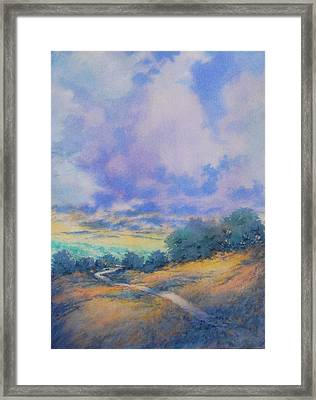 Round The Bend No 2 Framed Print by Virgil Carter
