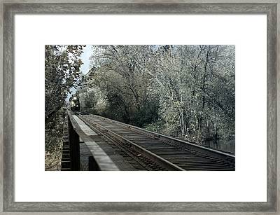 Round The Bend Framed Print by Off The Beaten Path Photography - Andrew Alexander