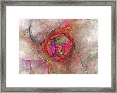 Roundel Framed Print by Michael Durst