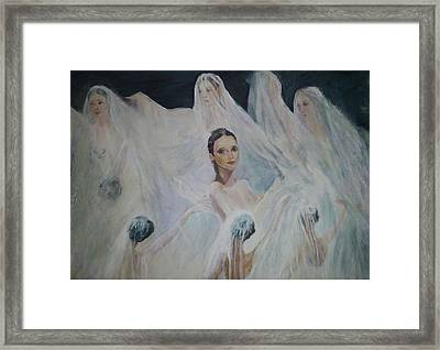 Roundelay. Ballet Dancers Framed Print