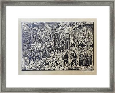 Roundelay Framed Print
