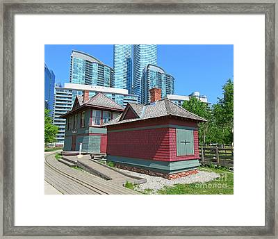 Roundhouse Park Toronto Framed Print