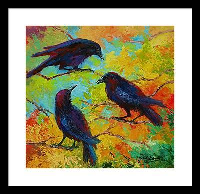 Crow Framed Prints
