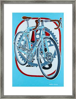 Rourke Bicycle Framed Print