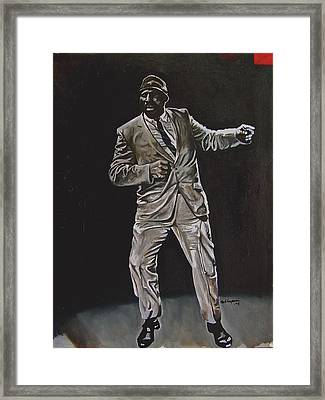 Rouse Solo Framed Print by Martel Chapman